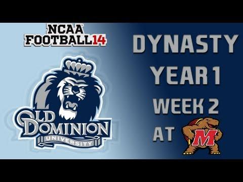 NCAA Football 14 Dynasty - Old Dominion: Episode 3