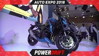 6. Suzuki GSX S750 @ Auto Expo 2018 : PowerDrift