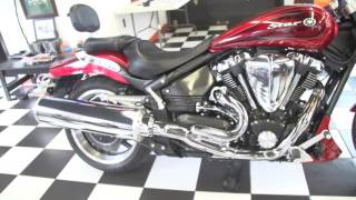4. 2008 Yamaha Road Star WARRIOR