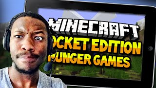 MY FIRST MINECRAFT POCKET EDITION HUNGER GAMES