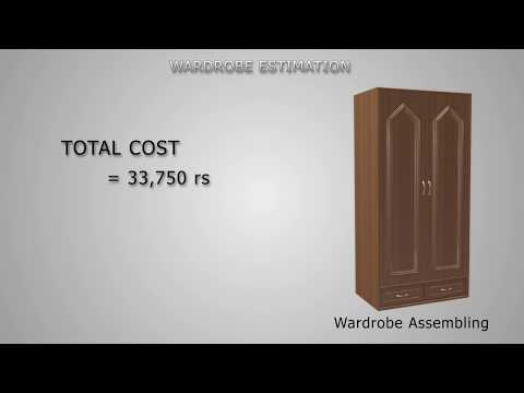 Wardrobe assembly and estimation cg animation