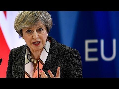 Σε απευθείας μετάδοση από το euronews η ομιλία της Τερέζα Μέι  για το Brexit στο Βρετανικό…