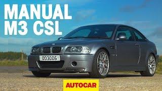 BMW M3 CSL with MANUAL GEARBOX review | BMW's greatest M car? | Autocar by Autocar