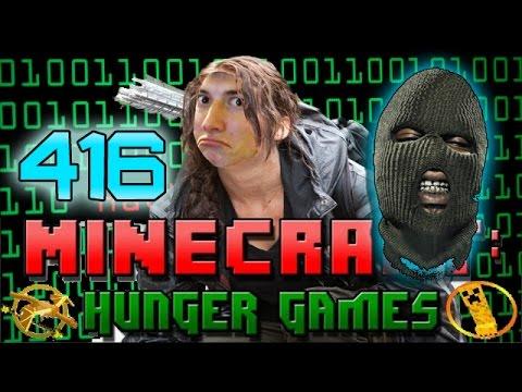 Minecraft: Hunger Games w/Mitch! Game 416 – Hacker Patrol!