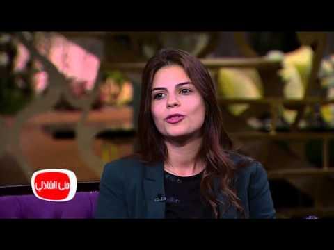 """شاهد- عبير حريري إحدى بطلات فيلم """"كدبة كل يوم"""" ومدبلجة المسلسلات التركية"""