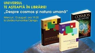 Universul te asteapta in librarie! 2014 - dialog stiintific