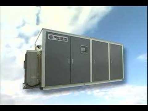 Ozone-based desalination unit (海水淡水化装置、高濃度酸素飲料水の精製)