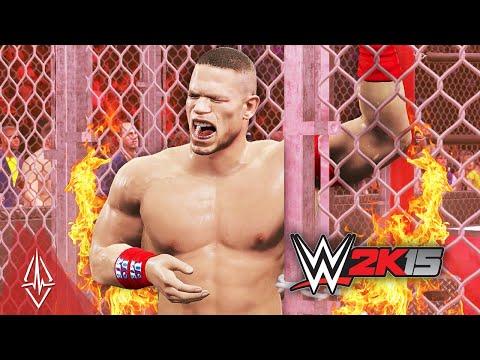 WWE 2K15 2K Showcase Mode - Hustle, Loyalty, Disrespect Part 3 - HELL IN A CELL!