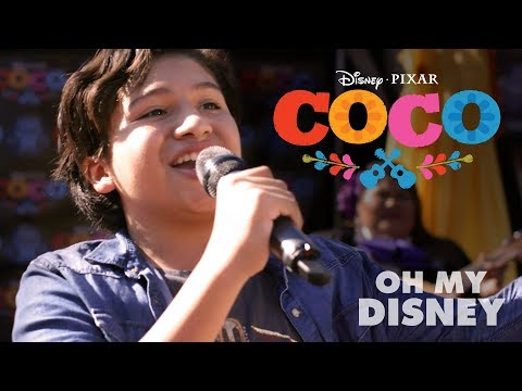 Disney•Pixar's Coco Magical Guitar Surprise | Oh My Disney
