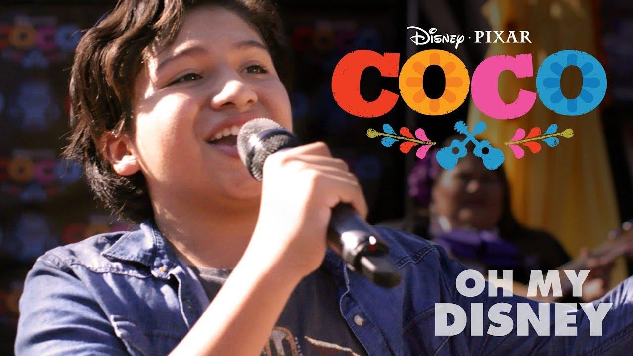 Disney•Pixar's Coco Magical Guitar Surprise | Oh My Disney