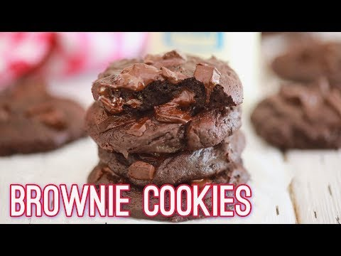 Chocolate Brownie Cookies | Gemma's Bigger Bolder Baking