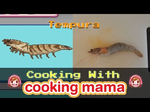 Tempura | Cooking With Cooking Mama!