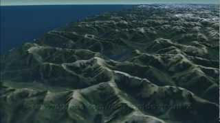 Hikutaia New Zealand  City pictures : maps - NZ - virtualNZ - Landsat 2012 - HD