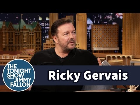 Ricky Gervais Kidnapped His Mom