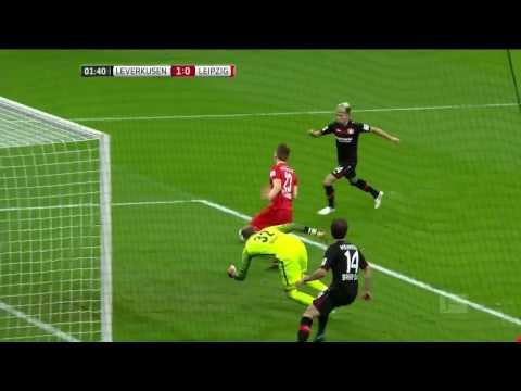 Bayer Leverkusen vs  RB Leipzig  Round 11 Bundesliga Highlights(19/11/2016)
