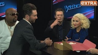 Christina Aguilera's Tips for Slimming Down: 'Laughter, Happiness... and Yoga'