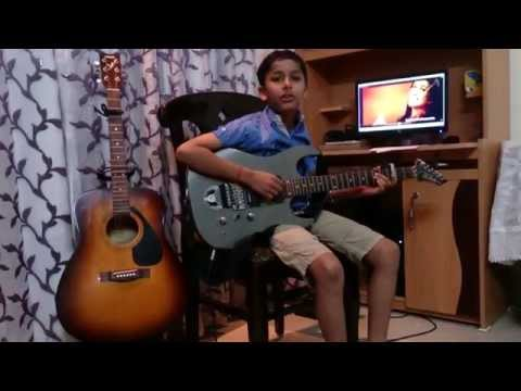 tere bina from heropanti guitar cover by rio