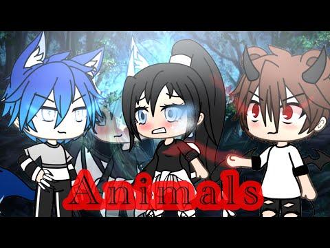 First glmv/ ANIMALS / by Snow river / gacha life music video (description)