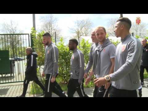 INSIDE Champions League : les images de la balade à Dortmund - AS MONACO
