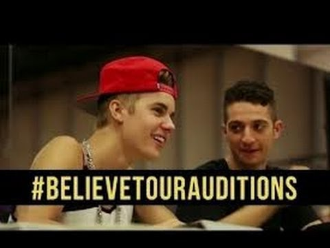 biebs - Inside Auditions for the Biebs'