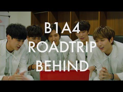 B1A4 'Road Trip - Ready?' Behind Clip #9 REACTION