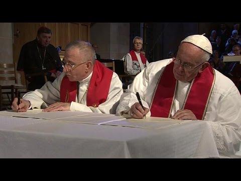 Σουηδία: Ο Ποντίφικας «ενώνει» Καθολικούς και Λουθηρανούς – world