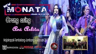 Video ORANG ASING - ANI ARLITA - NEW MONATA - RAMAYANA AUDIO MP3, 3GP, MP4, WEBM, AVI, FLV Juni 2019