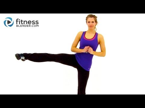 At Home High Intensity Interval Training – Cardio HIIT Workout with Fitness Blender