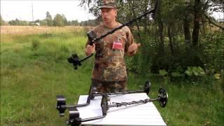 Видеообзор металлоискателя Fisher F22