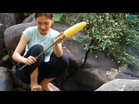 Cùng Vie Girl Làm Bắp Nướng Trong Rừng