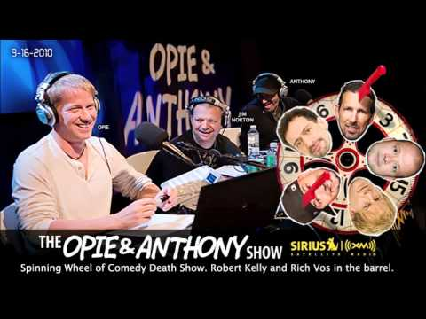 Spinning Comedy Wheel of Death(Rich Vos and Robert Kelly) on Opie and Anthony