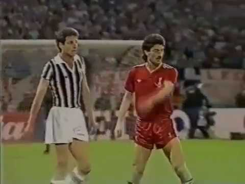 European Cup 1985  Final - Liverpool - Juventus  0 - 1