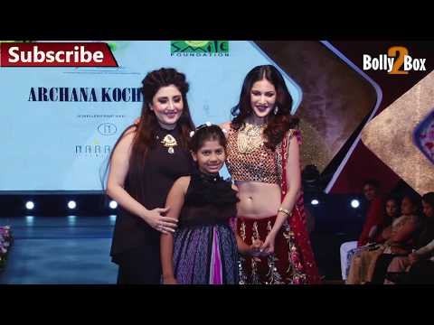 Amyra Dastur At Smile Foundation's Charity Fashion Show | Bolly2box