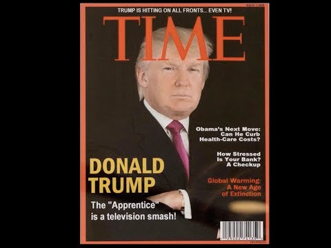 Trump's Fake TIME Magazine Cover Is The Most Trump Thing Ever. SAD!