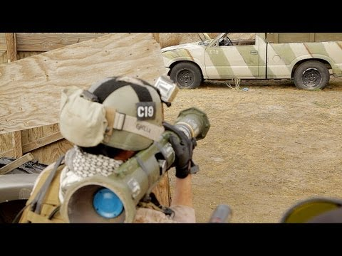 airsoft battle - Desert Fox Field, roughly 50 people. Featuring teams like Disposable Heroes, 3SAS, and hosted by 777. Including an AT4 rocket launcher, suicide bombers, and ...