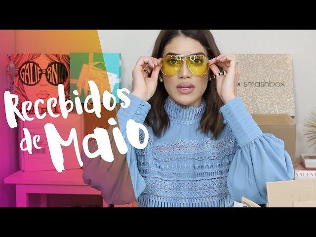 Recebidos de Abril/Maio 2017 - Super Vaidosa
