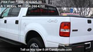 2004 Ford F-150 Lariat 4dr SuperCrew 4WD Styleside 5.5 ft. S