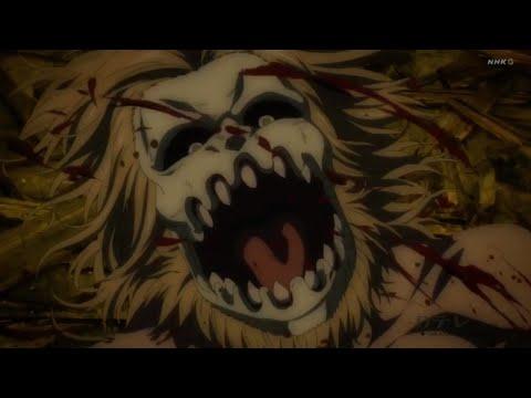Eren vs jaw and Warhammer titan - Shingeki no Kyojin Season 4 episode 7