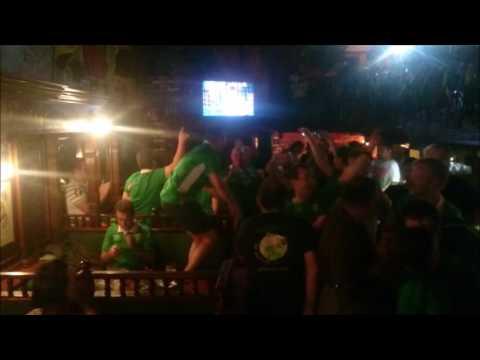 Irski navijači u Beogradu