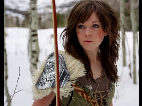 , title : 'Skyrim - Lindsey Stirling & Peter Hollens'