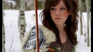 Skyrim - Lindsey Stirling & Peter Hollens - YouTube