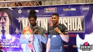 Charles Martin Vs Anthony Joshua - Head To Head