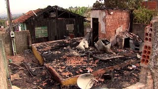 Famílias de Bauru que perderam as casas em incêndio pedem ajuda