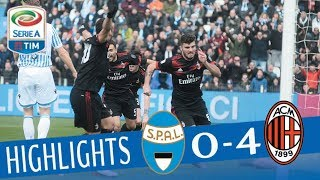 Video SPAL - Milan 0-4 - Highlights - Giornata 24 - Serie A TIM 2017/18 MP3, 3GP, MP4, WEBM, AVI, FLV Februari 2018