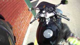 3. 2006 BMW R1100s Test ride Part 1