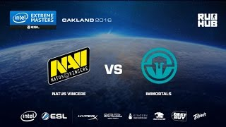 IEM Oakland - NaVi vs Immortals - de_mirage - [Enkanis, yxo]