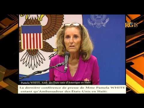 La dernière conférence de presse de Madame Pamela White