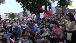 Pontarlier France  City pictures : Euro 2016 - Retransmission de la demi-finale à Pontarlier