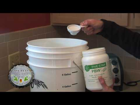 The Best Guide to Homebrewing – Part 2 – Cleaning & Sanitizing for Brewing