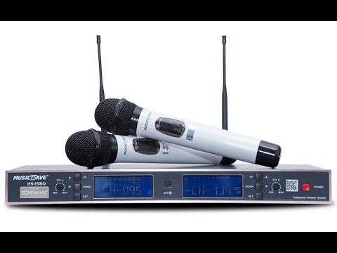 Micro Music Wave HS-1580 hoàn hảo cho đam mê ca hát
